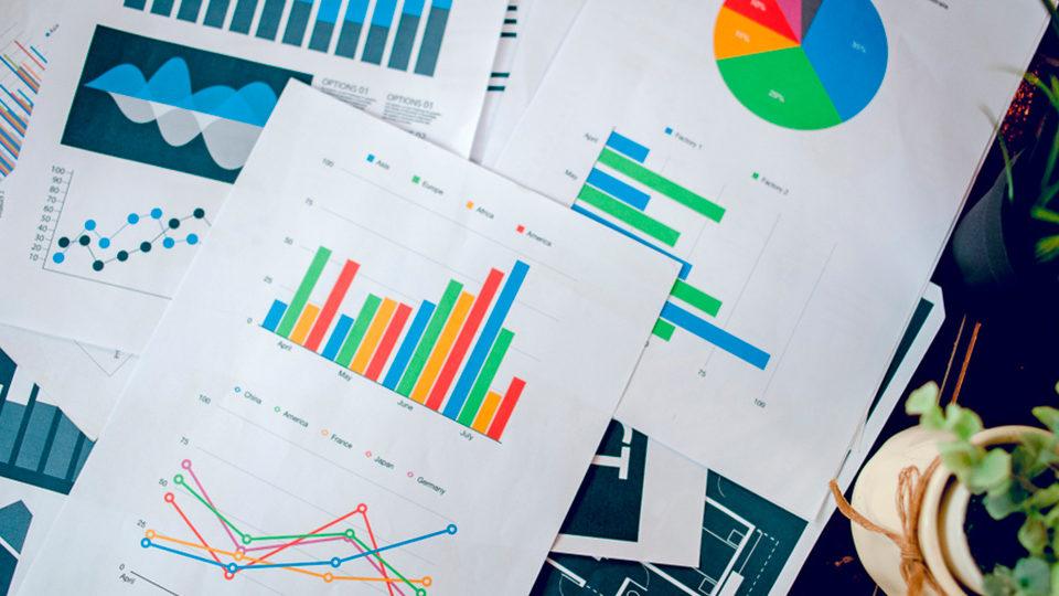 Gráficos e relatórios